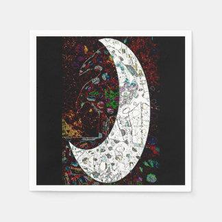 Raven Moon Paper Napkin