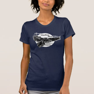 Raven Moon Watching Over You T-Shirt