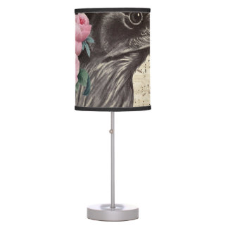 Raven Music Table Lamp