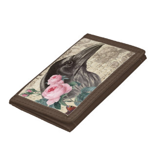 Raven Music Trifold Wallets