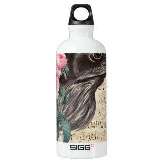 Raven Music Water Bottle