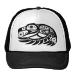 Raven Native American Design Hat