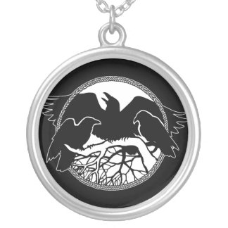 Raven Necklace Raven Gift Raven & Crow Art Jewelry