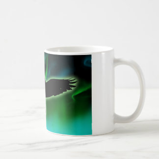 raven night coffee mug