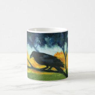 """""""Raven Night Sky"""" mug"""