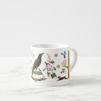 Raven of Fortune Espresso Cup