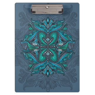Raven of mirrors, dreams, bohemian, shaman clipboard