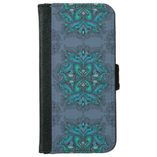 Raven of mirrors, dreams, bohemian, shaman iPhone 6 wallet case