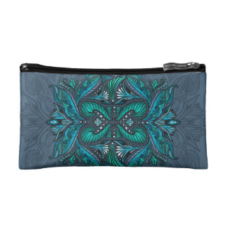 Raven of mirrors, dreams, bohemian, shaman makeup bag