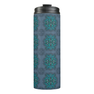 Raven of mirrors, dreams, bohemian, shaman thermal tumbler