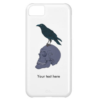 Raven On A Human Skull iPhone 5C Cover
