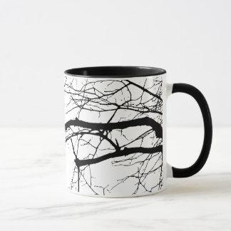 Raven on the Tree Mug