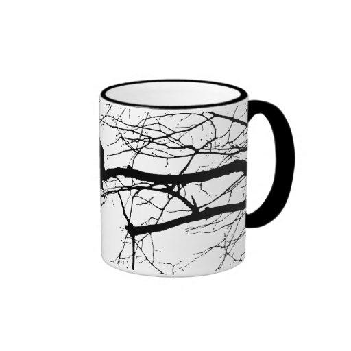 Raven on the Tree Mugs