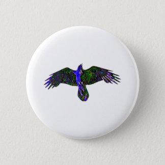 Raven Paint 2 Inch Round Button