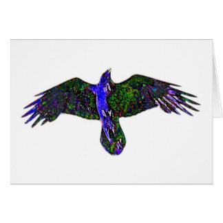 Raven Paint Card