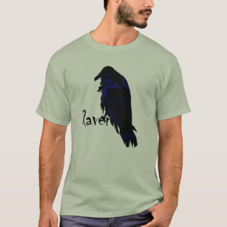 Raven Perched on Raven T-Shirt