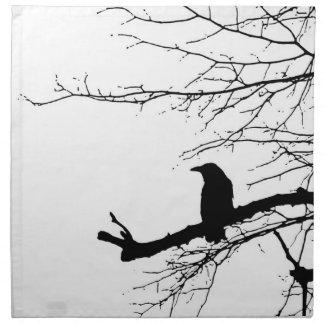 Raven Ravenware napkin