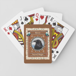 Raven  -Sacred Magic- Classic Playing Cards