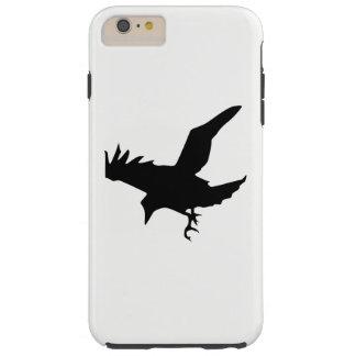 Raven Silhouette Tough iPhone 6 Plus Case