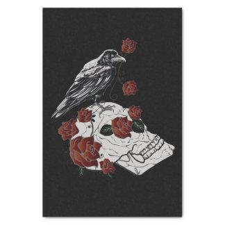 Raven, Skull & Roses Gift Tissue Paper