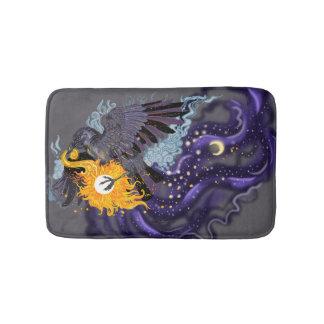 Raven Sky Folklore Bath Mat