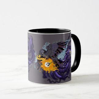 Raven Sky Folklore mug