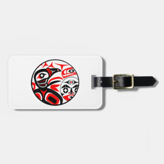Raven Song Luggage Tag