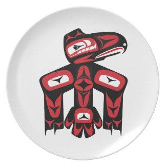 Raven Spirit Plate