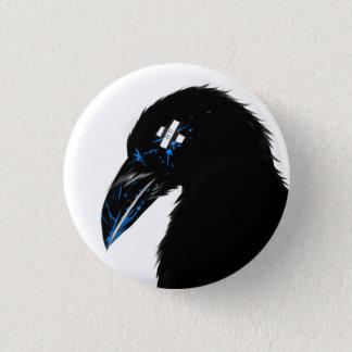 Raven splat! 1 inch round button