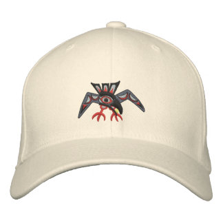 Raven steals the sun embroidered hat