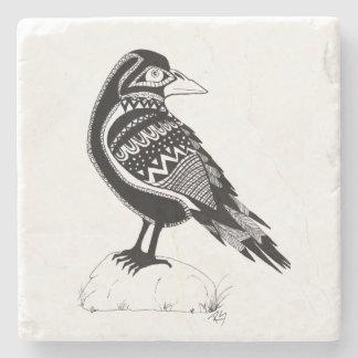Raven Stone Coaster