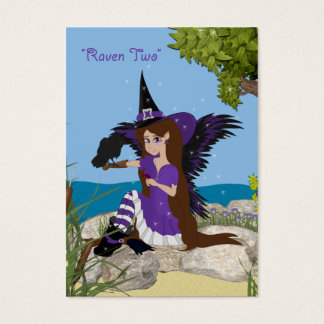 Raven Two ACEO Trading Card