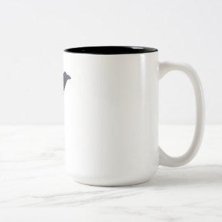 RAVEN Two-Tone COFFEE MUG