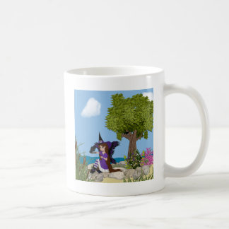 Raven Witch Faery Coffee Mug