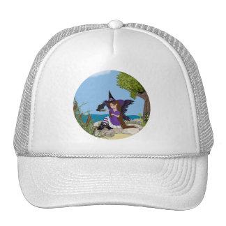 Raven Witch Faery Trucker Hat