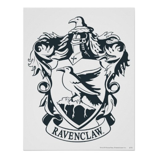 Ravenclaw Crest Related Keywords & Suggestions - Ravenclaw Crest Long ...