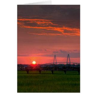 Ravenel Sunset Card