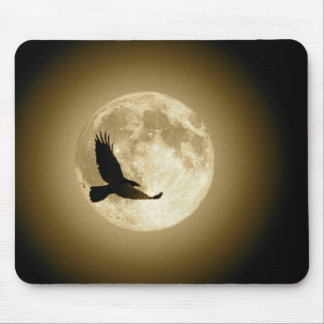 RavenMoonFlight Mousepad (Sepia)
