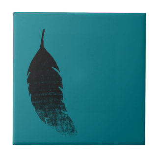 Raven's feather tile
