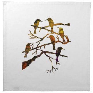 Ravens in the Mist Napkin