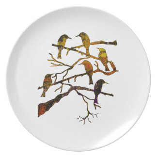 Ravens in the Mist Plate