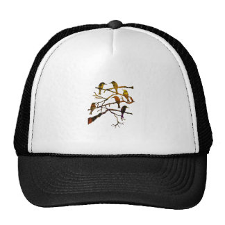 Ravens in the Mist Trucker Hat