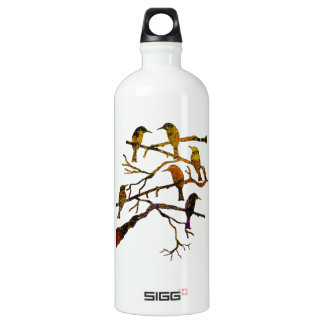 Ravens in the Mist Water Bottle