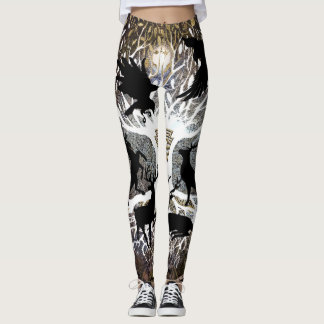 Ravens of Odin Leggings