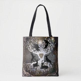 Ravens of Odin Tote Bag