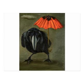ravens rain 2 postcard