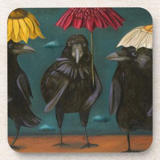 Ravens Rain Beverage Coasters