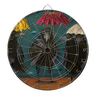 Ravens Rain Dartboard