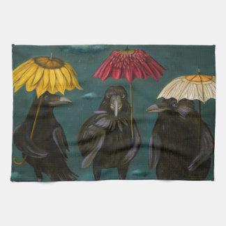 Ravens Rain Towel