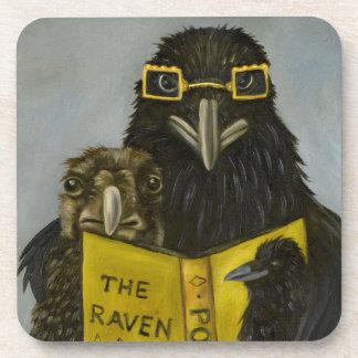 Ravens Read Beverage Coaster